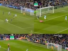 La 'remontada' de Manchester City. Captures/Canal+Sport