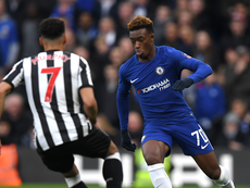 Callum Hudson-Odoi scored twice for Chelsea in the final. ChelseaFC