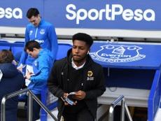 Cameron John, en la lista del Crystal Palace, Leicester y Middlesbrough. Twitter/Wolves
