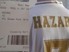 El aficionado pidió la camiseta con el '10' y le llegó con el '7'. Twitter/FonduEdge