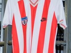 El Sunderland fue pionero en Europa. Twitter/classicshirts