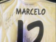 El brasileño dedicó la camiseta a Durmisi. Instagram