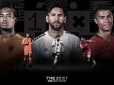El The Best ya conoce a sus finalistas. FIFA