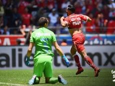 Toluca consiguió una importante victoria. Twitter/TolucaFC