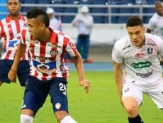 Junior empató ante Atlético Huila. ClubJunior