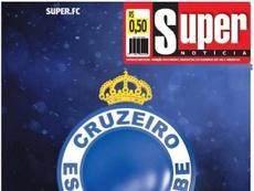 Capa do jornal Super Notícia desta segunda-feira. Super Notícia