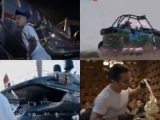 Jet privado, yate de lujo, un Lamborghini... así disfrutó del parón Jadon Sancho. Instagram/JadonSan