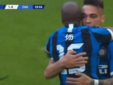 Ashley Young estreia e dá assistência para gol. Captura/MovistarLigadeCampeones