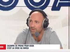 Christophe Dugarry détruit le Barça. Twitter/TeamDuga