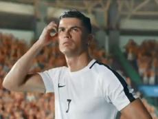 Crisitano Ronaldo fait de la pub en Asie. Captura/Shopee