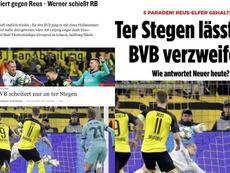La presse allemande aux pieds de Ter Stegen. Captures