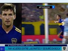 Soldano volverá a Boca con una nueva cesión. Captura/FOXSports