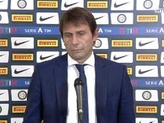 Antonio Conte le dio un toque de atención a los suyos antes de visitar al Madrid . Captura/SkySport
