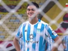 La risa de un chico de 18 años antes de chutar un penalti a Diego Alves. Captura/ESPN