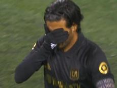 Vela no estuvo fino y Los Angeles FC quedó eliminado. Captura/MLS