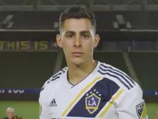 Pavón, prêté aux LA Galaxy. Galaxy