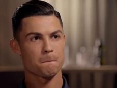 Cristiano Ronaldo assure qu'il est le meilleur de l'histoire.  Captura/ITV