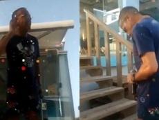 Mofas a Cristiano tras quedarse sin la Bota de Oro. Instagram/cristobalsoria1