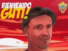 Real Madrid great Guti takes charge of Almeria. UDAlmería