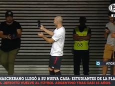A Mascherano le llovieron móviles. Captura/FOX