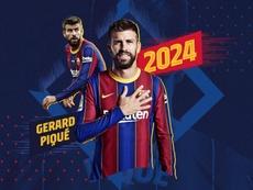 El Barça anuncia de una tacada cuatro renovaciones. Twitter/FCBarcelona_es