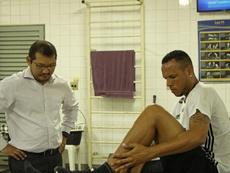 Luís Fabiano está preparado para volver. PontePreta