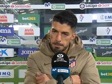 Luis Suárez se lució con un doblete. Twitter/MovistarLaLiga