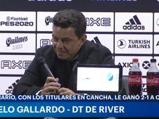 Gallardo, preocupado por la situación de Chile. Captura/TyCSports