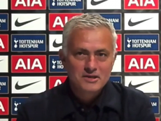 Mourinho se responsabilizó de la pelea entre Son y Lloris. Captura