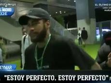Neymar est prêt pour le choc de Ligue des champions. Capture/ElChiringuito