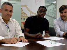 Omenuke Mfulu, nuevo jugador del Elche. Elche