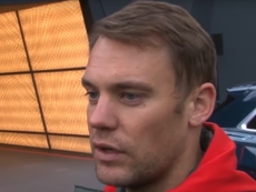 Neuer replicó a Ter Stegen. Captura