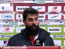 Villalibre resaltó el triunfo del Athletic. Captura/GOL