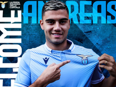 Andres Pereira ya es de la Lazio. Twitter/OfficialSSLazio