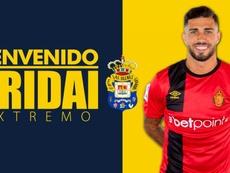 Aridai Cabrera ficha por Las Palmas. UDLasPalmas