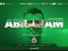 Abraham Minero, primer fichaje de Racing. RacingClub
