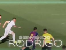 El Talavera anuncia a Rodrigo Rodrigues. Twitter/CFTalavera_