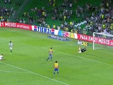 Andreas Pereira a marqué le dernier but de la rencontre. Twitter