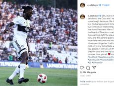 Adebayor ya es historia de Olimpia. Instagram/E_Adebayor
