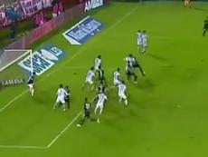 Álvarez marcó un auténtico golazo ante Tucumán. Youtube