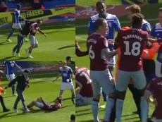 Los casos del derbi de Birmingham y el Arsenal-United han creado dudas. Capturas/SkySportsFootball