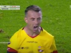 Barcelona pasa por la tanda para ser campeón de Ecuador. Captura/GOLTV