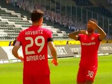 Havertz já fez seu terceiro gol em dois jogos. Captura/MovistarLigadeCampeones