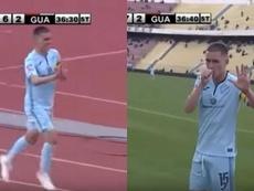 Colosal Juanmi Callejón: cinco goles en una noche inolvidable. Captura