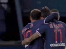El PSG de Pochettino gusta y es una apisonadora: ¡tres goles en tres minutos! Captura/Vamos