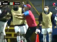 Olimpia da el primer paso hacia el título en Honduras. Captura/TVC