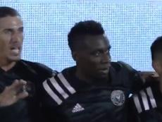 Matuidi al fin firmó su primer gol en la MLS. Captura/MLS