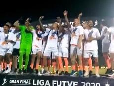 Deportivo La Guaira inclina a Táchira y se proclama campeón. Twitter/LaGuaira