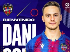 El Levante confirma la compra de Dani Gómez. Twitter/LevanteUD