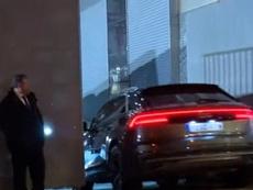 James chegou tarde ao Bernabéu e Bale voltou a sair antes. Captura/ASTV